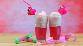 Ice cream soda floats Stock Image