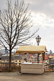 Ice cream stand  at Upper town in Zagreb, Croatia Royalty Free Stock Photo