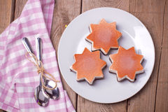 Ice cream in star form Stock Images