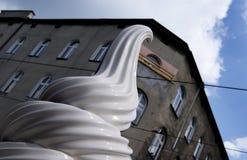 Ice cream in the street stock image