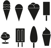 Ice cream. summer treat. Royalty Free Stock Photo
