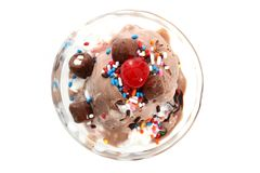 Ice Cream Sundae Stock Photos