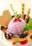 Ice cream sundae Royalty Free Stock Image