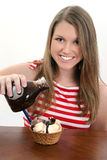 Ice Cream Sundae Stock Photo