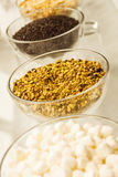 Ice Cream Sundae Toppings Stock Image