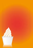 Ice Cream Sundae (Vector) Royalty Free Stock Photography