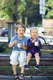 Ice-cream on a Sunday Stock Photography