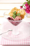 Ice Cream And Sweet Sundae Royalty Free Stock Photos