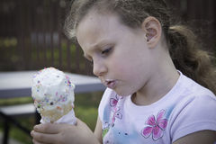 Ice Cream Time - Concentration Stock Image