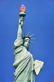 Ice Cream Torch. Statue of Liberty holding ice cream Stock Photos
