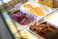 Ice cream trays Royalty Free Stock Images
