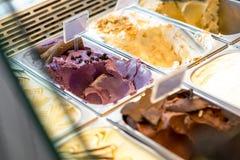 Ice cream trays Royalty Free Stock Images
