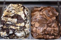 Ice cream trays Stock Photography
