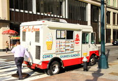 Ice Cream Truck Stock Photography