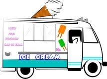 Ice cream truck Stock Photos