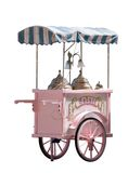 Ice cream truck Royalty Free Stock Images