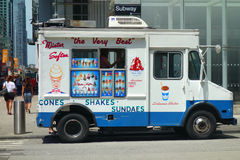 Ice-Cream Truck Stock Photo