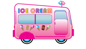 Ice Cream Truck Stock Image
