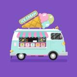 Ice cream van Stock Photos