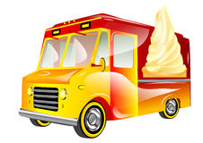 Ice cream van Stock Photo