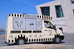 Ice Cream Van, Liverpool. Stock Photos