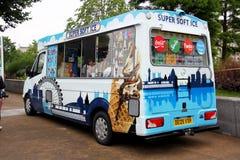Ice cream van Royalty Free Stock Photos