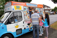 Ice cream van Stock Image