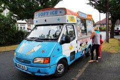 Ice cream van Stock Image