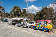 Ice cream van, Troodos Mountains, Cyprus Royalty Free Stock Photos