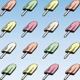 Ice cream (vector) Royalty Free Stock Photos
