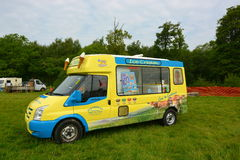 Ice cream vehicle Royalty Free Stock Images