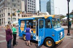 Ice Cream vendor Royalty Free Stock Photo