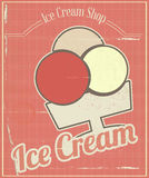 Ice Cream Card Stock Image