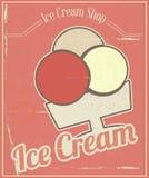 Ice Cream Card Stock Image