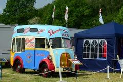 vintage Ice cream vehicle Royalty Free Stock Photos