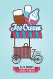 Ice cream on wheels Royalty Free Stock Photos