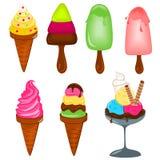Ice creams Royalty Free Stock Photos