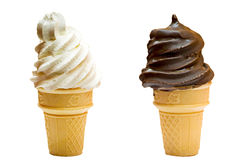 Ice creams Stock Image