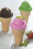 Ice creams Royalty Free Stock Photo