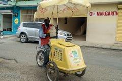 Ice creams seller stock photos