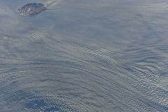 Ice Crust of Greenland Stock Photo