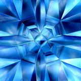 Ice Crystal abstract gem Royalty Free Stock Photo