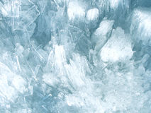 Ice crystal background Stock Photography