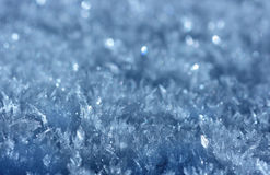 Ice crystal background Royalty Free Stock Image