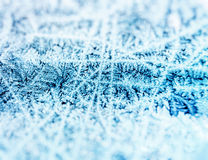 Ice Crystal Background Royalty Free Stock Photos