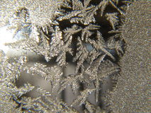 Ice Crystal Closeup Royalty Free Stock Photos