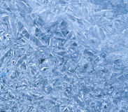 Ice crystal pattern Stock Image