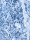 Ice crystal patterns Stock Images