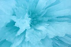 Ice Crystals. A close up view of ice crystals. This would make an excellent abstract background Royalty Free Stock Images