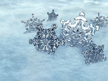 Ice Crystals. Illustration of Ice Crystals Stock Photography